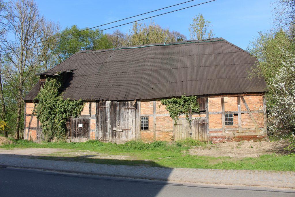 Straßenseite der Mühlenscheune