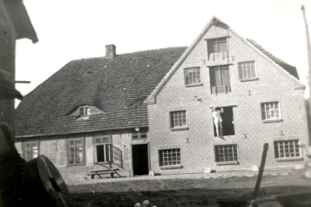 Mühle Reinshagen Vorderseite altes Bild