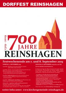 700 Jahre Reinshagen